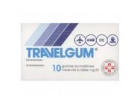 Travelgum 20 Mg - Antichinetosico Per Malessere Da Viaggio - 10 Gomme Masticabili - Bb Farma Srl