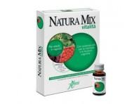 Aboca Natura Mix Vitalità Concentrato Fluido Integratore Memoria 10 Flaconcini