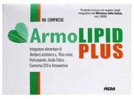 Armolipid Plus - Integratore per il colesterolo - Prodotto Italiano - 60 Compresse