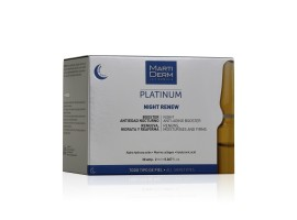 Martiderm - Platinum - Night Renew - Effetto rigenerante ed anti-age - 30 fiale