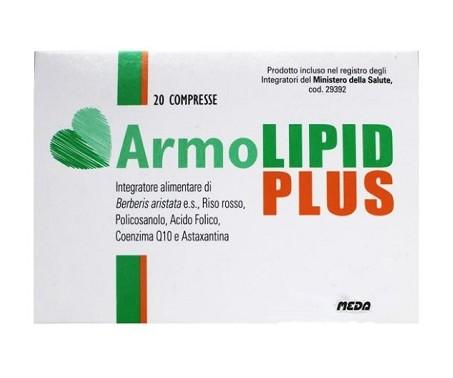 ArmoLipid Plus - Integratore per il colesterolo - 20 compresse