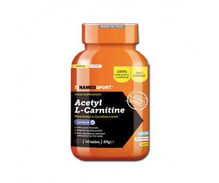 Named Acetil L-Carnitina Integratore 60 Compresse