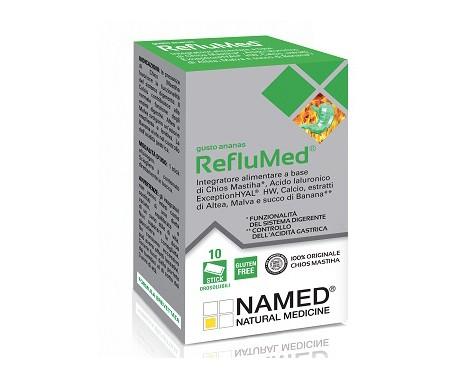 RefluMed Ananas Integratore Benessere Stomaco e Intestino 10 Stick