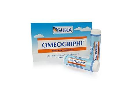 Omeogriphi Guna - Globuli omeopatici - 6 Tubi monodose