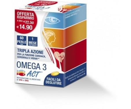 Omega 3 Act Integratore 60 Perle