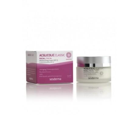 Acglicolic Classic SPF 15 Crema Viso Idratante Antiage 50 ml