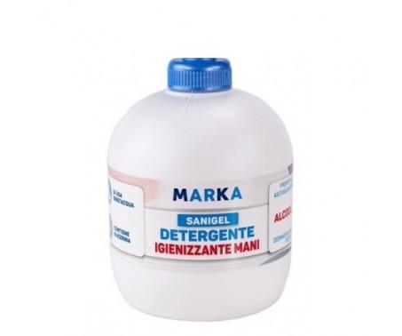 SANIGEL Alcool 75% 500ml - Gel Igienizzante Detergente Mani senza dosatore