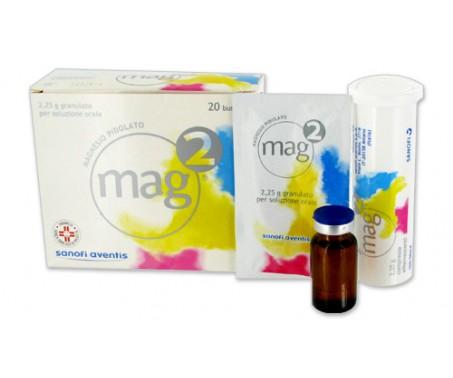 Mag 2 - Granulato per soluzione orale - 20 bustine