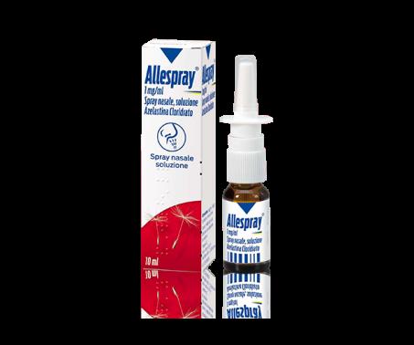 Allespray Spray nasale 1 mg Azelastina Rinite 10 ml