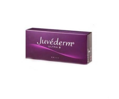 Juvederm Ultra 2 - confezione con 2 siringhe + 2 aghi - 0,55 ml