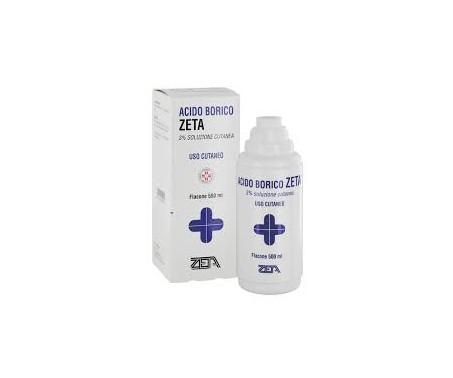 Acido Borico Zeta 3% Soluzione Cutanea Antisettico 500 ml