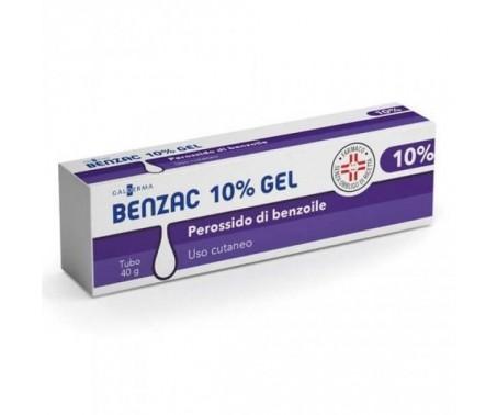 Benzac 10% Gel - Trattamento per l'acne - 40 g