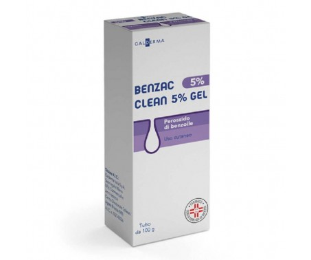 Benzac Clean 5% Gel Perossido di Benzoile 100 g