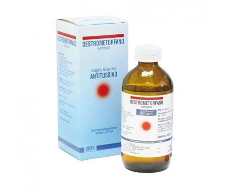 Destrometorfano Bromidato Zeta 30 mg/10 ml Sciroppo Flacone da 150 ml