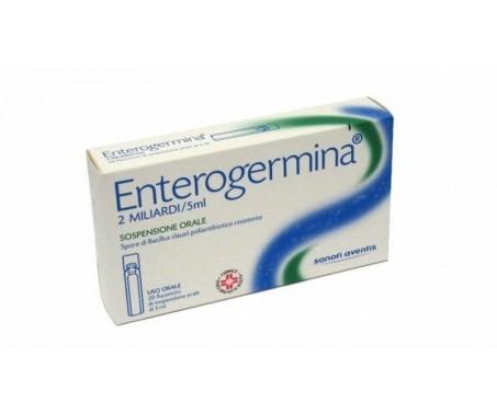 Enterogermina sospensione orale - 2 miliardi - 10 flaconcini - 5 ml