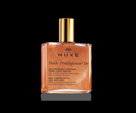 Nuxe Huile Prodigieuse Or - Olio secco spray per viso corpo e capelli - 50 ml