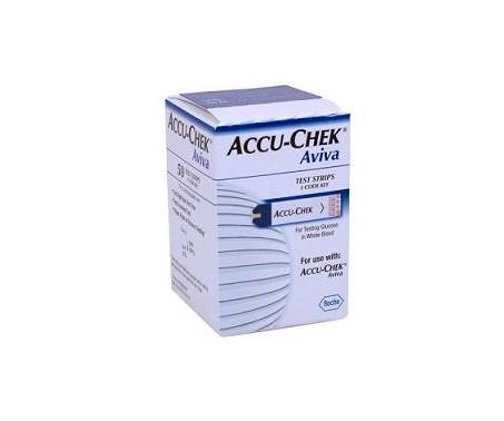 Accu-Chek Aviva Strisce Reattive Glicemia 50 Pezzi