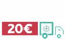 In tutta Europa a 20 €